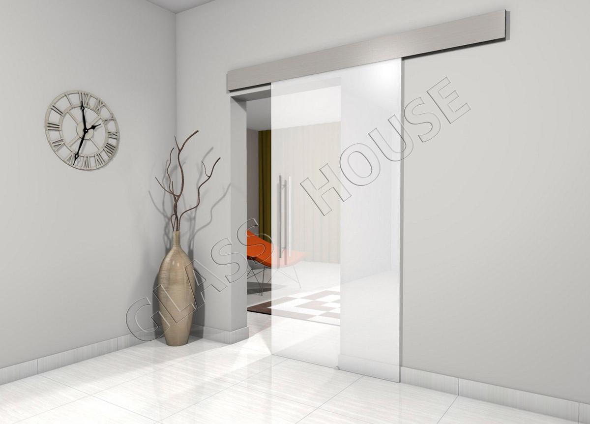 Drzwi przesuwane w profilu