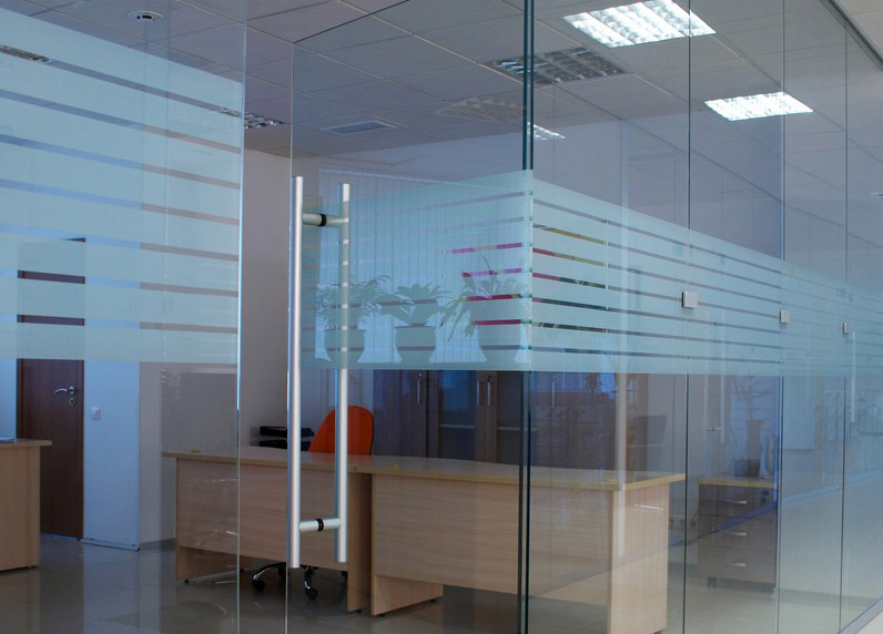 Ścianki biurowe ze szkła