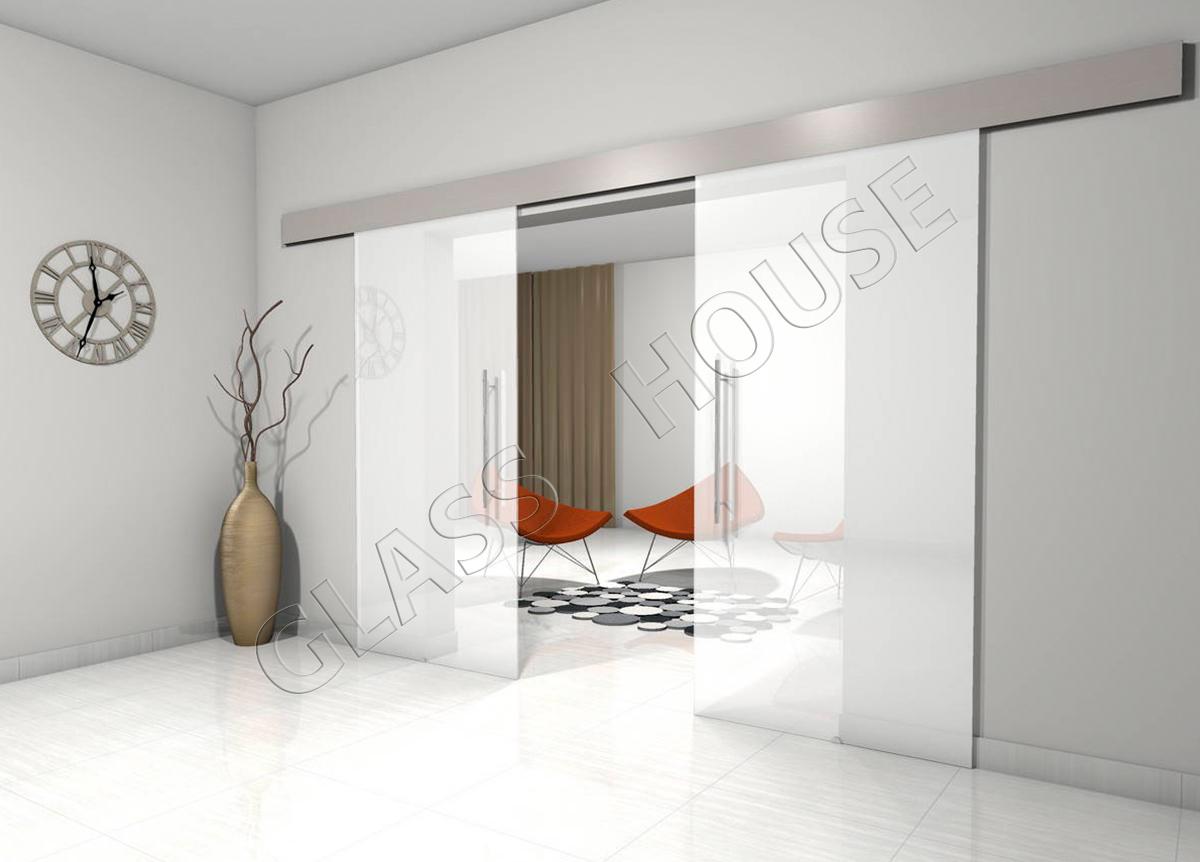 Młodzieńczy Drzwi szklane przesuwne | Glass House Kraków CZ05