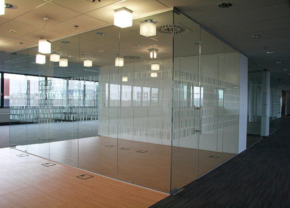 Ściana ze szkła