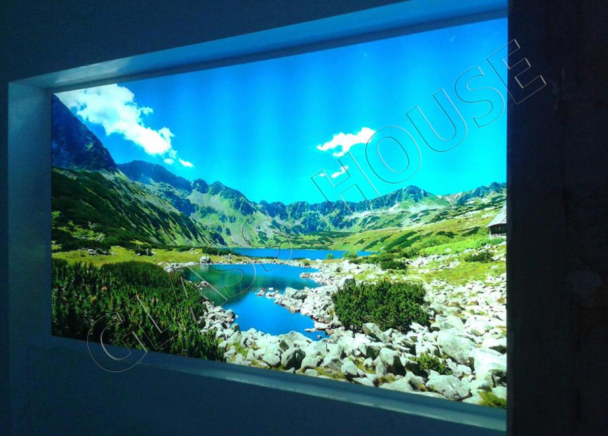 Szkło do kuchni podświetlane