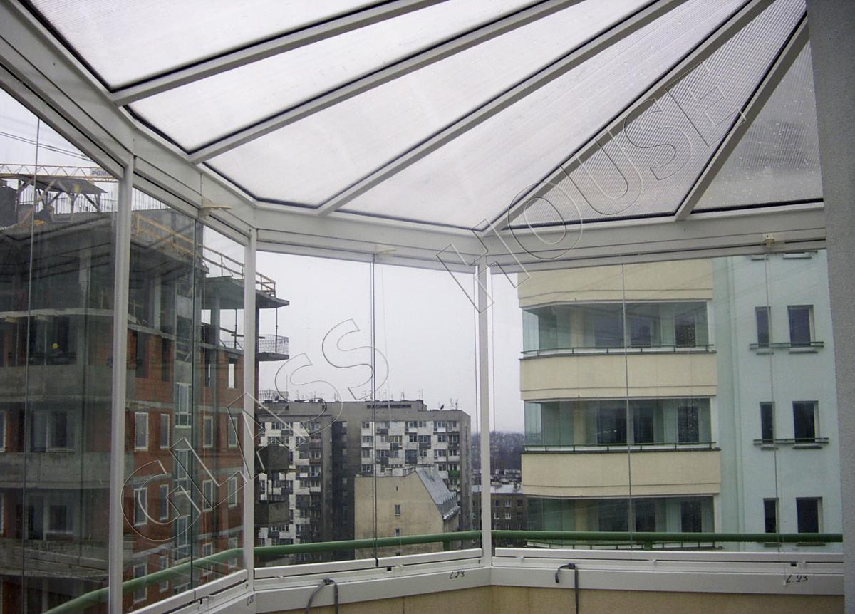 Zabudowy balkonów w systemie ramowym